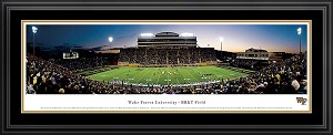 Wake Forest University BB&T Field Deluxe Framed Picture 1