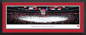 University of Wisconsin Camp The Kohl Center Deluxe Framed Picture 2