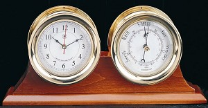 Solid Cherry Double Base Display Clock Holder (Base Only)