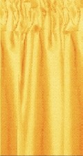 Gold Cafe Curtains