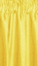 Golden Yellow Cafe Curtains