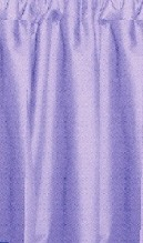 Light Purple Cafe Curtains