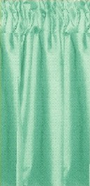 Mint Tier Curtains