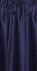 Navy Blue Tier Curtains