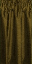 Olive Tier Curtains