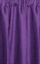 Purple Cafe Curtains