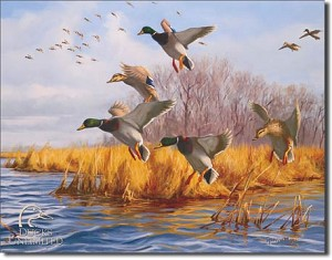 Ducks Unlimited As Good As Home Tin Sign