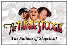 Three Stooges Sultans of Slapstick