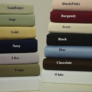 Twin Xl Size 600 Thread Count Egyptian Cotton Sheets