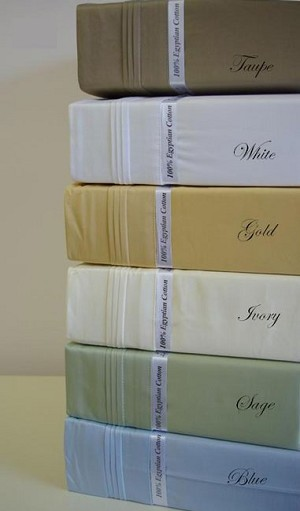 California King Size 1500 Thread Count Egyptian Cotton Sheets