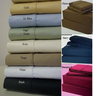 California King Size 600 Thread Count Egyptian Cotton 21 Inch Super Deep Sheets