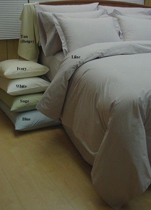 10 Piece Egyptian Percale Down Alternative Bed In A Bag