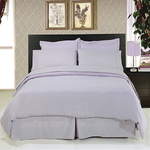 Solid Lilac 8 Piece Soft Microfiber Bedding Set
