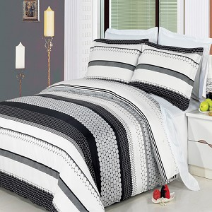 Meadow Full/Queen 4 Piece 300 Thread Count Egyptian Cotton Comforter Set
