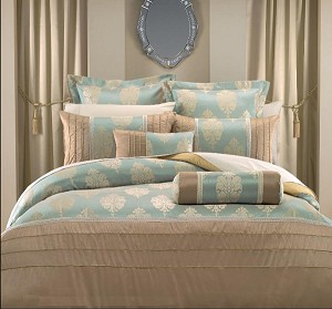Stephanie Full/Queen 7 Piece Hotel Collection Duvet Cover Set