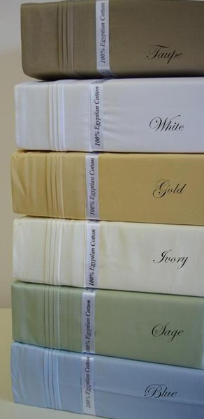 King Size 1500 Thread Count Egyptian Cotton Sheets Solid