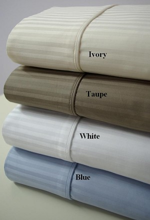 King Size 1000 Thread Count Egyptian Cotton Sheets Stripe