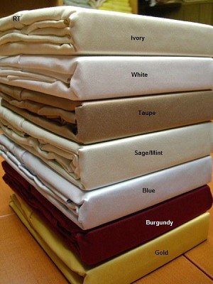 Olympic Queen Size 600 Thread Count Egyptian Cotton Sheets Solid