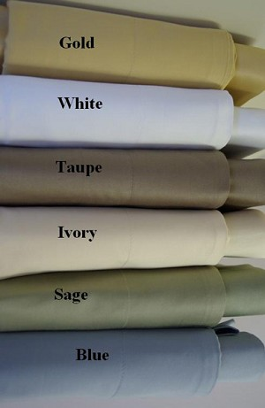 Queen Size 1200 Thread Count Egyptian Cotton Sheets Solid