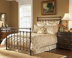 Langley Bed Set With Frame Copper Penny