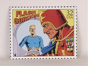 Flash Gordon Metal Sign