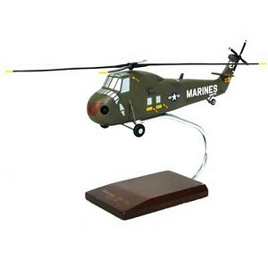 UH-34D Sea Horse Military Helicopter Model