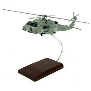 SH-60B Seahawk Military Helicopter Model