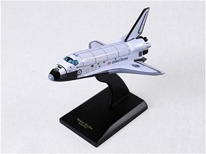 Orbiter Discovery Small Space Aircraft Model
