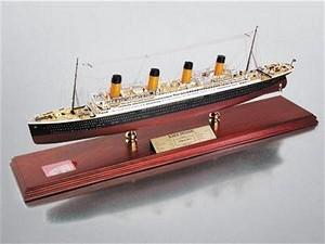 RMS Titanic Signed by Millvina Dean Model Ship
