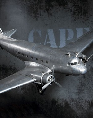 Dakota DC-3 Airplane Model