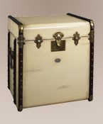 Stateroom End Table Ivory Nautical Decor