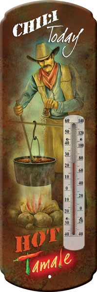 Chili Hot Tamali Decorative Outdoor Thermometer