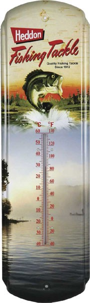Heddon Fishing Tackle Decorative Outdoor Thermometer