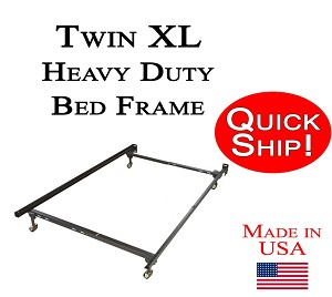 Extra Long Twin Quick Ship Metal Bed Frame