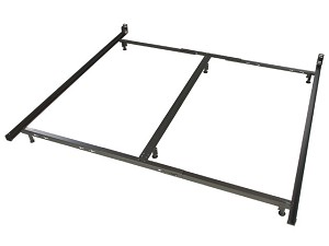 Low Profile Eastern King Size Metal Bed Frame