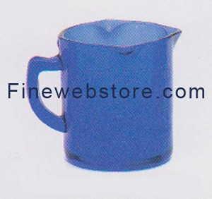 Blue Depression Glass Small Measuring Cup