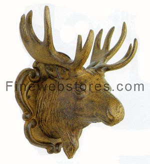 Rusty Moose Head