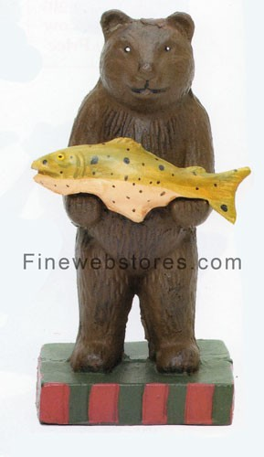 Standing Bear with Fish