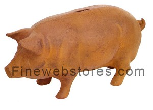Rusted Piggy Bank