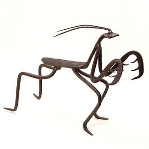 Country Preying Mantis Sculpture