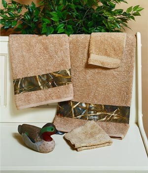 Camouflage 6 Piece Towel Set Max 4