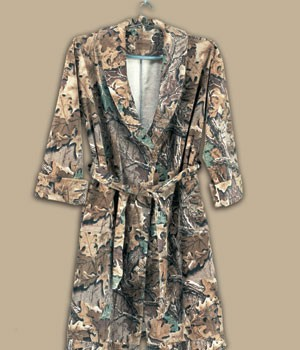 Camouflage Bath Robes Advantage