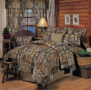Camouflage Queen Size Sheet Set All Purpose APHD