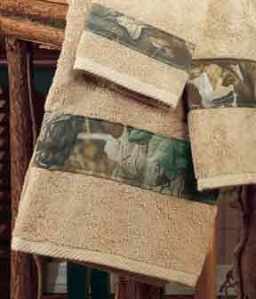 Camouflage 6 Piece Towel Set Timber
