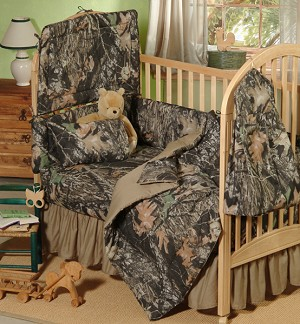 New Break Up Camo Crib Baby Bedding