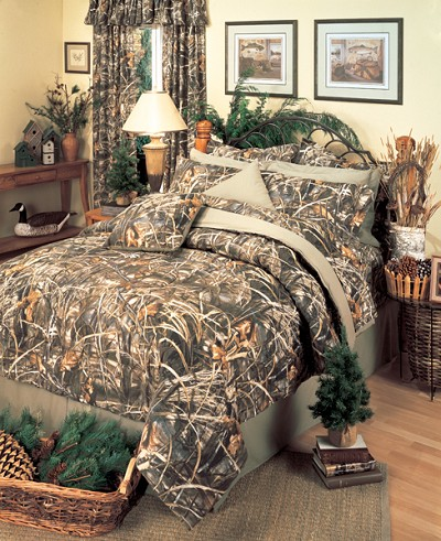 Camouflage California King Size Sheet Set Max 4 Hd