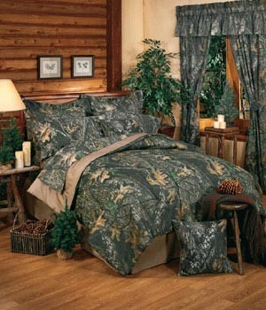 Camouflage Queen Size Sheet Set New Break Up