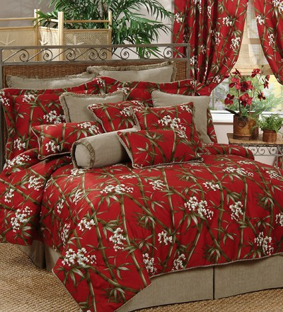 Bamboo Bedding on Red Bamboo Comforter And Bedding