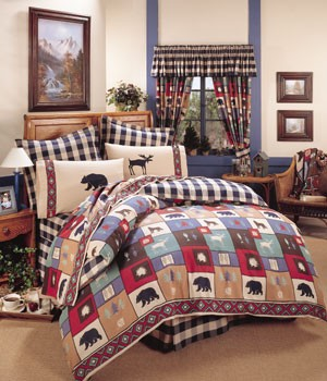 The Woods Comforter and Lodge Bedding