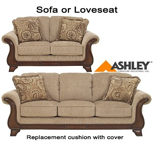 ashley lanett replacement cushion cover 4490038 sofa or 4490035 love. Black Bedroom Furniture Sets. Home Design Ideas